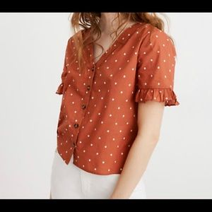 Madewell Blouse Size M